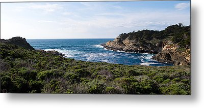 Coastline, Point Lobos State Reserve Metal Print