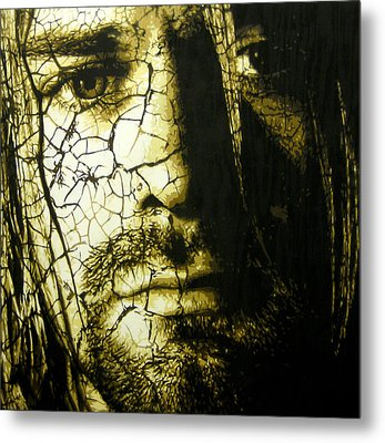 Cobain - You Know You're Right  Metal Print