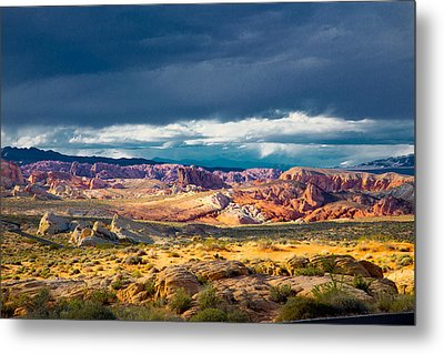 Color Storm No. 2 Metal Print by Jim Snyder