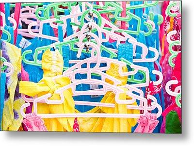 Colorful Tops Metal Print by Tom Gowanlock