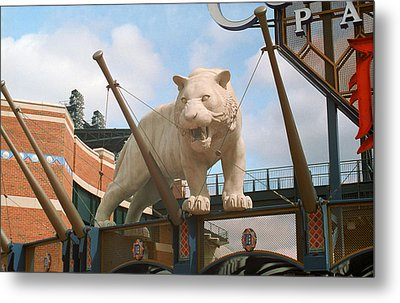 Comerica Park - Detroit Tigers Metal Print by Frank Romeo