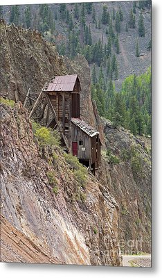 Commodore Mine On The Bachelor Historic Tour Metal Print
