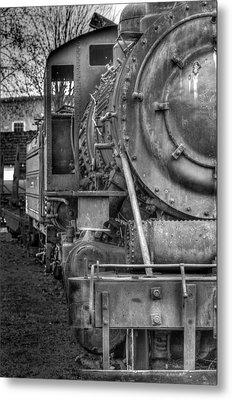 Comox Logging Engine No.11 Metal Print by R J Ruppenthal