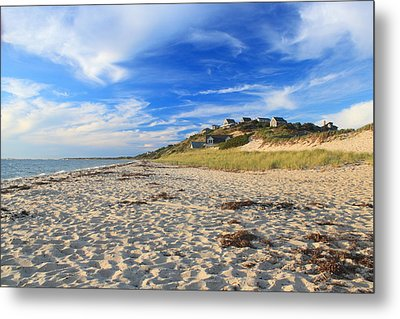 Corn Hill Beach Truro Cape Cod Metal Print by John Burk