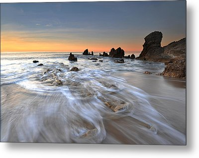 Corona Del Mar Sunrise Metal Print by Dung Ma