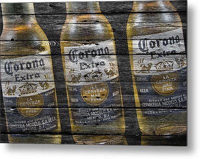 Corona Extra Metal Print by Joe Hamilton
