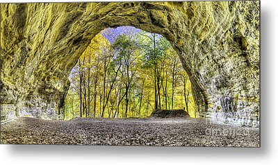 Council Overhang At Starved Rock Metal Print by Twenty Two North Photography