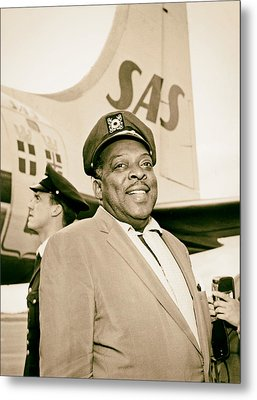Count Basie 1950s Metal Print by Mountain Dreams