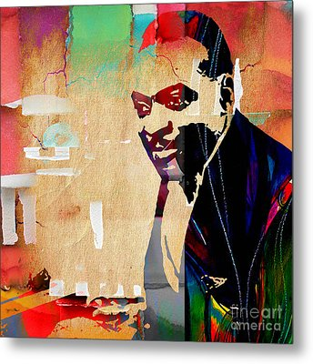 Count Basie Collection Metal Print