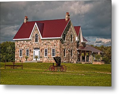 Country Living Metal Print by Steve Harrington