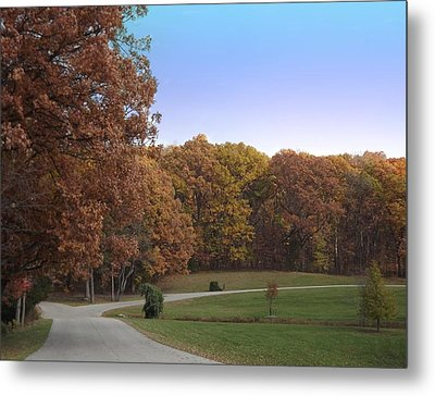 Metal Print featuring the photograph Country Road by Bill Woodstock