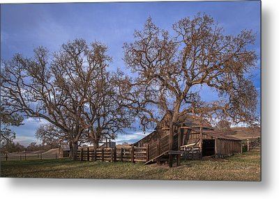 Cripple Creek Barn Metal Print