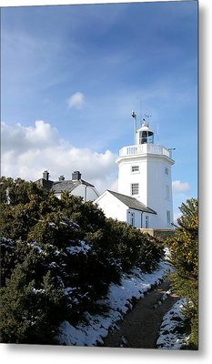 Cromer Lighthouse Metal Print by Paul Lilley