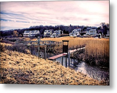 Crossing The Eel River  Metal Print by Constantine Gregory