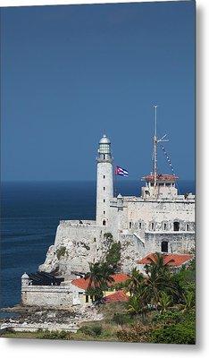 Cuba, Havana, Castillo De Los Tres Metal Print