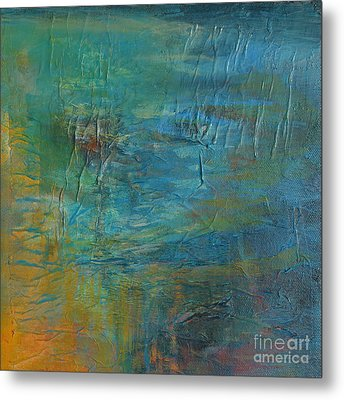 Current Metal Print by Melody Cleary