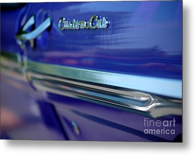 Metal Print featuring the photograph Custom Cab by Christiane Hellner-OBrien