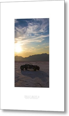 Custom Salt Metal Print