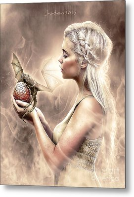 Daenerys Metal Print by Judas Art