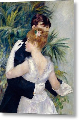 Dance In The City Metal Print by Pierre-Auguste Renoir