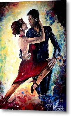Dancing In The Moonlight Metal Print by Michael Grubb