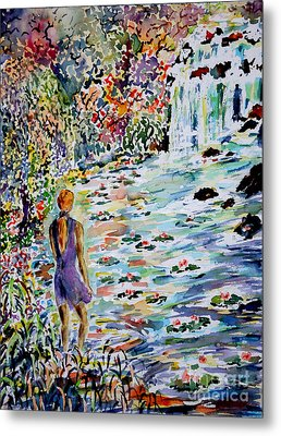 Daughter Of The River Metal Print by Alfred Motzer