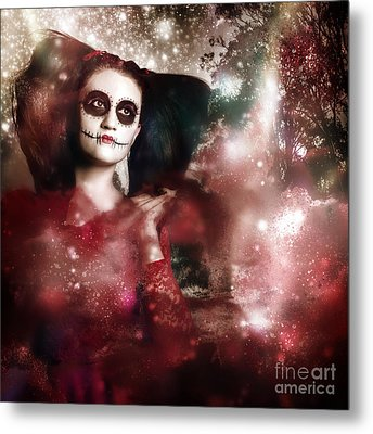 Death And Creation Metal Print