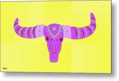 Deer Metal Print by Mark Ashkenazi