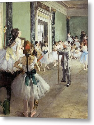 Degas, Edgar 1834-1917. The Dancing Metal Print by Everett