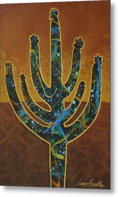 Desert Brown Metal Print by Lance Headlee