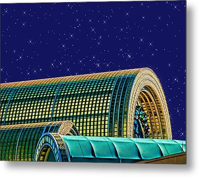 Destination By Night Metal Print by Wendy J St Christopher
