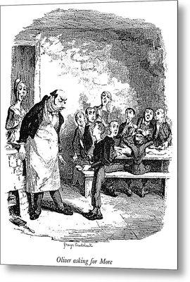 Dickens Oliver Twist Metal Print