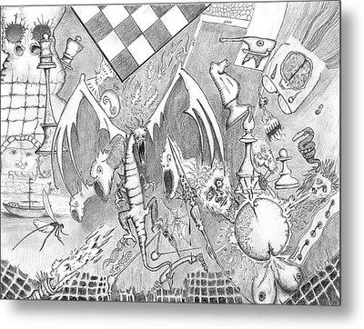Disintegration Of Sorts Metal Print by Dan Twyman