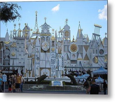 Disneyland Park Anaheim - 12125 Metal Print by DC Photographer