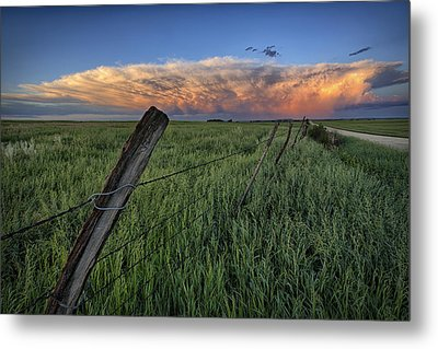 Distant Color Metal Print by Thomas Zimmerman