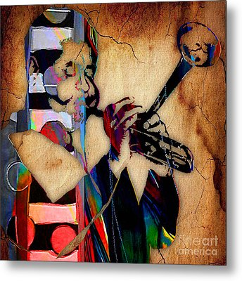 Dizzy Gillespie Collection Metal Print