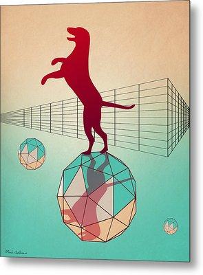 dog Metal Print by Mark Ashkenazi