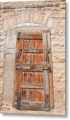Door Series 1 Metal Print