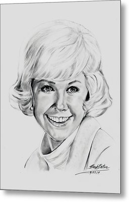 Doris Day Metal Print