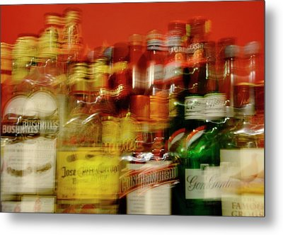 Double Vision And Alcohol Metal Print