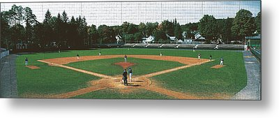 Doubleday Field Cooperstown Ny Metal Print by Panoramic Images