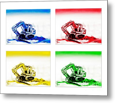 Dozer Mania Metal Print by Kip DeVore