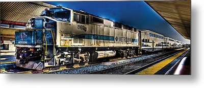 Dream Station Metal Print by Andrew Raby