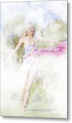 Dreamy Enchanted Forest Dancer Metal Print by Jorgo Photography - Wall Art Gallery