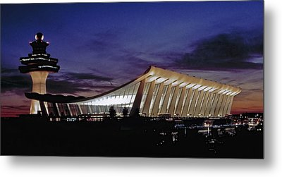 Dulles International Metal Print