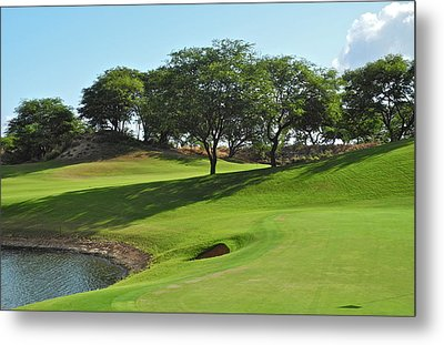 Metal Print featuring the photograph Dunes Of Maui Lani Golf Course  by Kirsten Giving