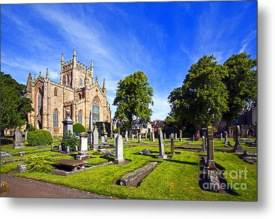 Metal Print featuring the photograph Dunfermline Abbey Scotland by Craig B