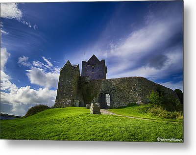 Dunguaire Castle Ireland Metal Print by Giovanni Chianese
