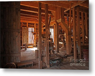 Dunn's Mill Metal Print by Russell Christie