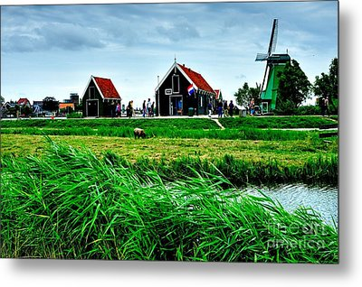 Metal Print featuring the photograph Dutch Village by Joe  Ng
